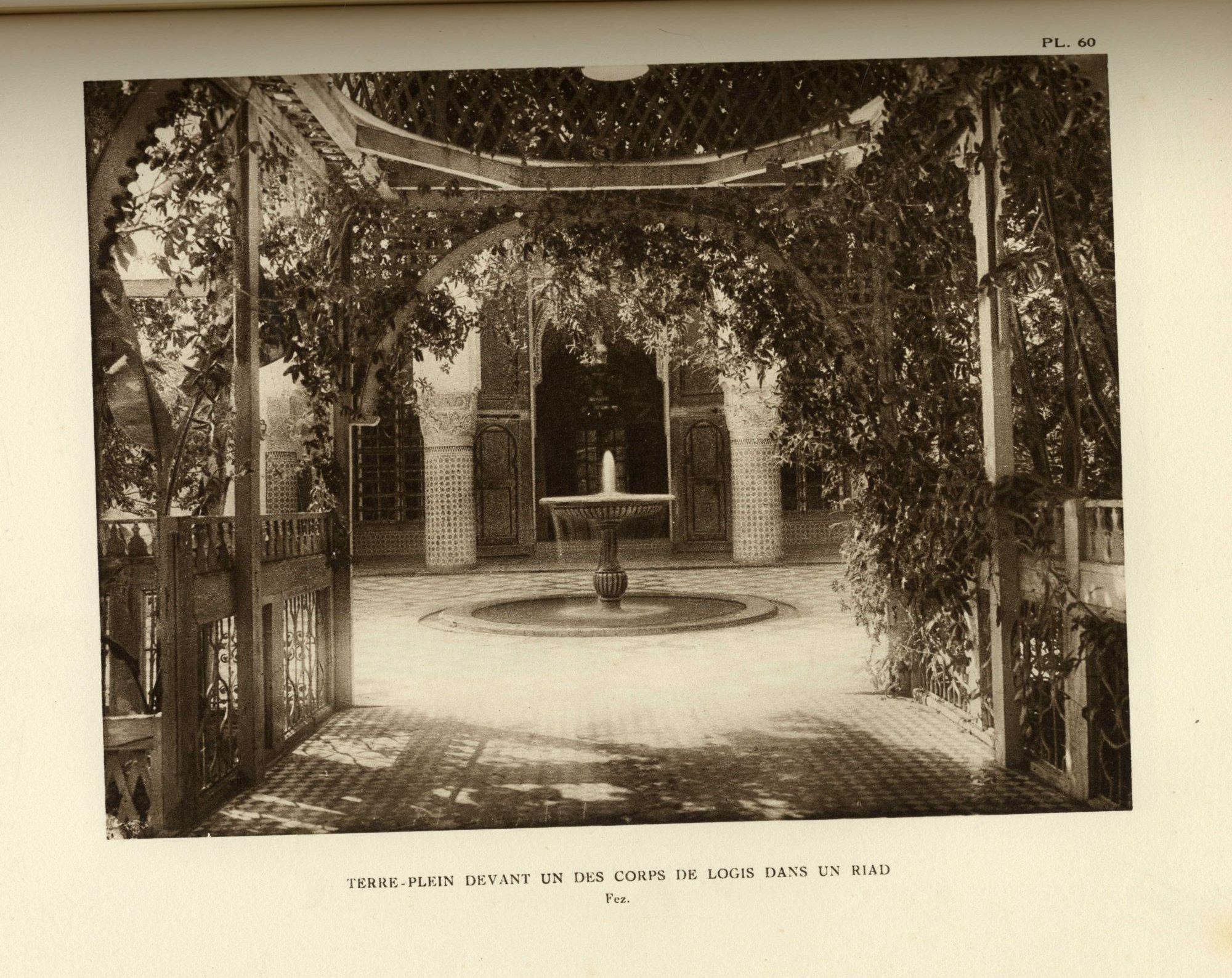Le Jardin et La Maison Arabe au Maroc. TWO VOLUMES. - Folios